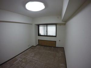 作業後の室内風景