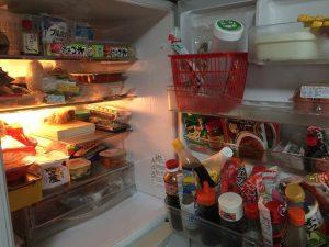 冷蔵庫の中は大丈夫?